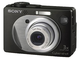 DSC-W1/B-Digital Camera-W Series