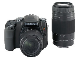 DSLR-A100W-Interchangeable Lens Camera-DSLR-A100