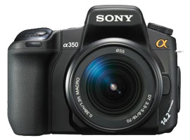 DSLR-A350K-Interchangeable Lens Camera-DSLR-A350