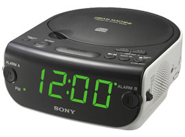 ICF-CD814-Radios-Clock Radio