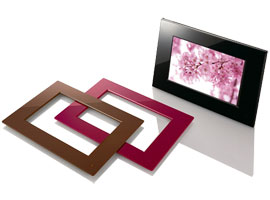 DPF-E72-S-Frame Digital Photo Frame-Standard