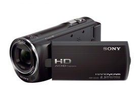 HDR-CX220E/B-Handycam® Camcorder-Flash / Memory Stick