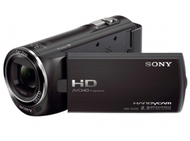 HDR-CX230E-Handycam® Camcorder-Flash / Memory Stick