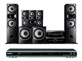STR-K5500SW/K68P-Home Theatre Component System