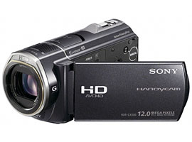 HDR-CX500-Handycam® Camcorder-Flash / Memory Stick