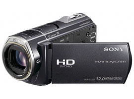 HDR-CX520E-Handycam® Camcorder-Flash / Memory Stick