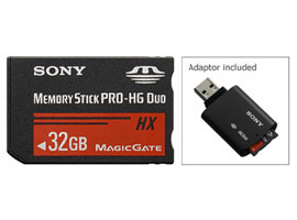 MS-HX32G-Memory Stick/SD Memory Card-Memory Stick PRO-HG Duo™