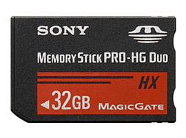 MS-HX32A-Memory Stick/SD Memory Card-Memory Stick PRO-HG Duo™