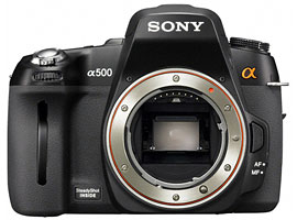 DSLR-A500-Interchangeable Lens Camera-DSLR-A500