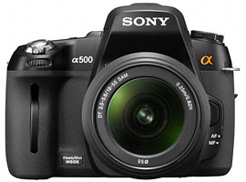DSLR-A500L-Interchangeable Lens Camera-DSLR-A500