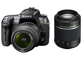 DSLR-A550Y-Interchangeable Lens Camera-DSLR-A550