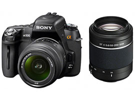DSLR-A500Y-Interchangeable Lens Camera-DSLR-A500