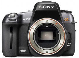 DSLR-A550-Interchangeable Lens Camera-DSLR-A550