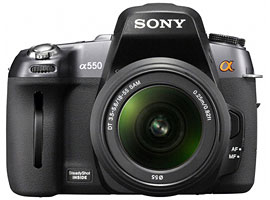 DSLR-A550L-Interchangeable Lens Camera-DSLR-A550