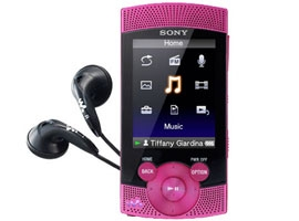 NWZ-S544/P-Walkman® Digital Media Players-S Series