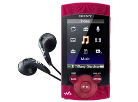 NWZ-S544/R-Walkman® Digital Media Players-S Series