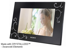 DPF-D72N/BQ-S-Frame Digital Photo Frame-Standard