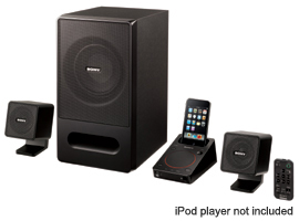 SRS-GD50iP-iPod/iPhone Dock Speakers