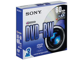 3DMW60DSS2-Video Media-8cm DVD