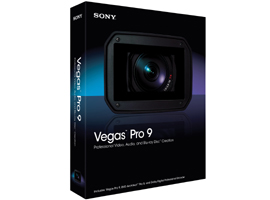 SFVV9DVD-Vegas Video Editing