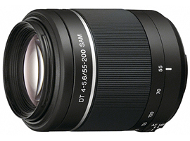SAL55200-2-Interchangeable Lens-Zoom