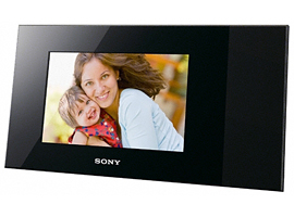 DPP-F700-S-Frame Digital Photo Frame-Frame & Printer