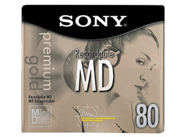 10MDW80PRB-Audio Media-Mini Disc