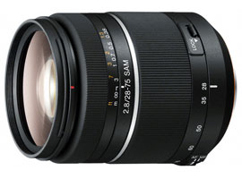 SAL2875-Interchangeable Lens-Zoom