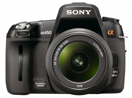 DSLR-A450L-Interchangeable Lens Camera-DSLR-A450