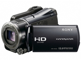 HDR-XR550E-Handycam® Camcorder-Hard Disk Drive (HDD)