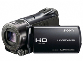 HDR-CX550E-Handycam® Camcorder-Flash / Memory Stick