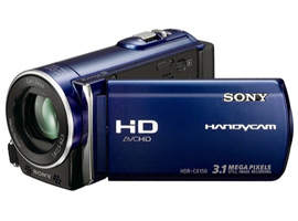 HDR-CX150/L-Handycam® Camcorder-Flash / Memory Stick