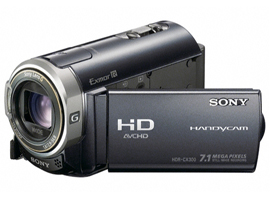 HDR-CX300-Handycam® Camcorder-Flash / Memory Stick