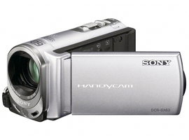 DCR-SX63E-Handycam® Video Camera-Flash / Memory Stick