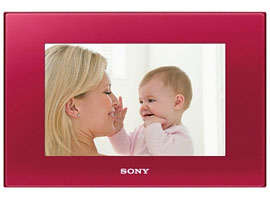 DPF-D75/R-S-Frame Digital Photo Frame-Standard