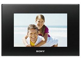 DPF-D75/B-S-Frame Digital Photo Frame-Standard
