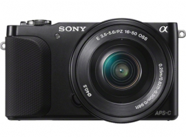 NEX-3NL/B-Interchangeable Lens Camera-NEX-3N