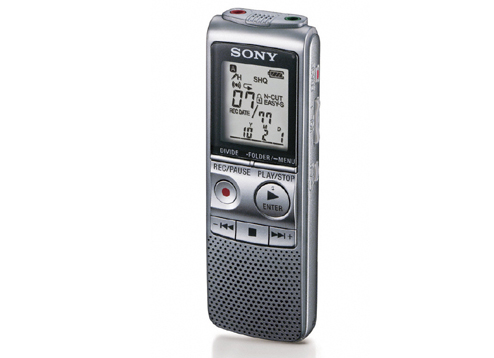 Sony ic recorder icd-p530f