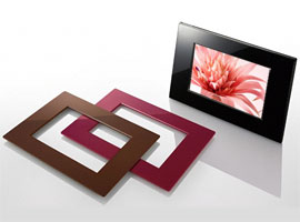 DPF-E73/B-S-Frame Digital Photo Frame-Standard