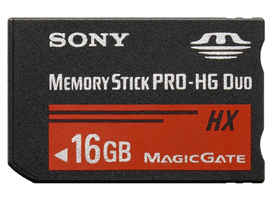 MS-HX16A-Memory Stick/SD Memory Card-Memory Stick PRO-HG Duo™