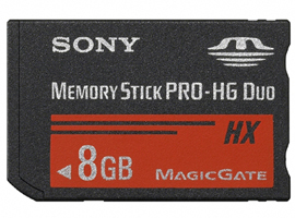 MS-HX8A-Memory Stick/SD Cards-Memory Stick PRO-HG Duo™