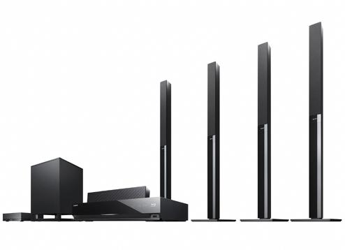Sony Blu Ray Disc Home Theatre System Bdv E