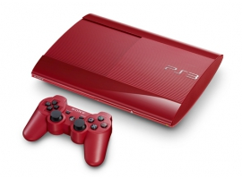 PlayStation®3 500GB (Garnet Red)-PlayStation®3-Console