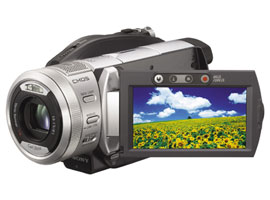 HDR-UX1E-Handycam® Camcorder-DVD