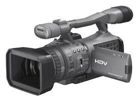 HDR-FX7E-Handycam® Camcorder-SemiPro