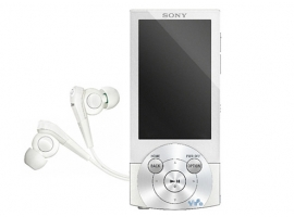 NWZ-A844/W-Walkman® Digital Media Players-A Series