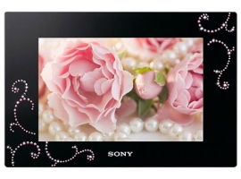 DPF-D720/BQ-S-Frame Digital Photo Frame-Standard
