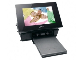 DPP-F800/B-S-Frame Digital Photo Frame-Frame & Printer