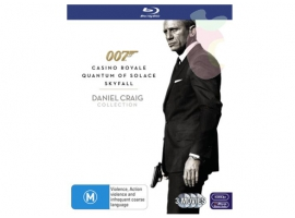 JAMESBONDBOXSET-Home Video Accessories-Others
