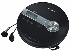 D-NE240/B-CD WALKMAN®